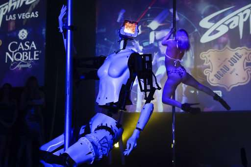 What robot strippers say about sexism, tech and the future