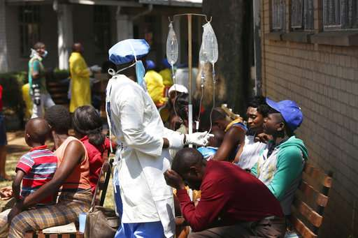 Zimbabwe declares cholera outbreak after 20 deaths