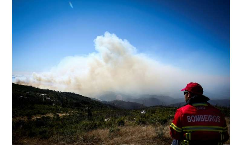 Firefighters hope they have a chance to get control of the blaze with calmer winds, higher air humidity levels and lower tempera