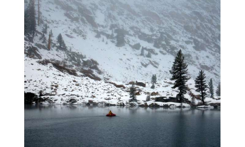 How climate change is affecting small Sierra Nevada lakes