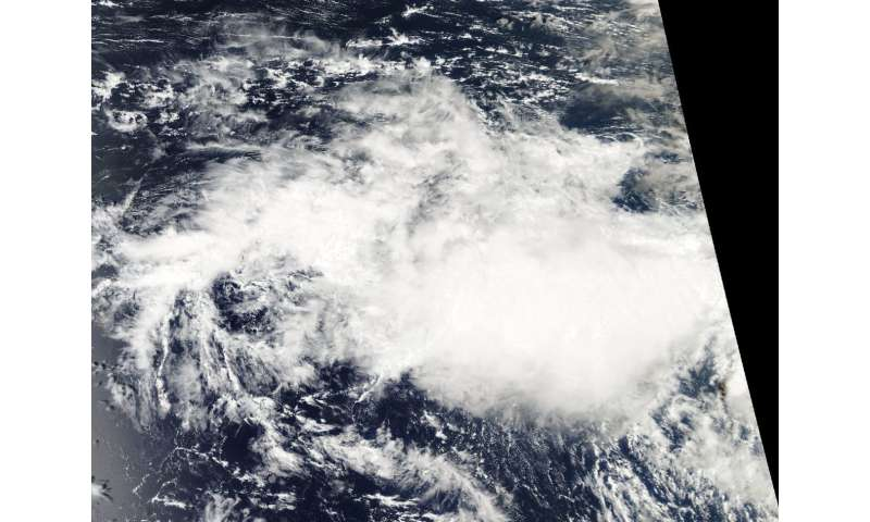 NASA-NOAA satellite catches short-lived Tropical Cyclone Bouchra