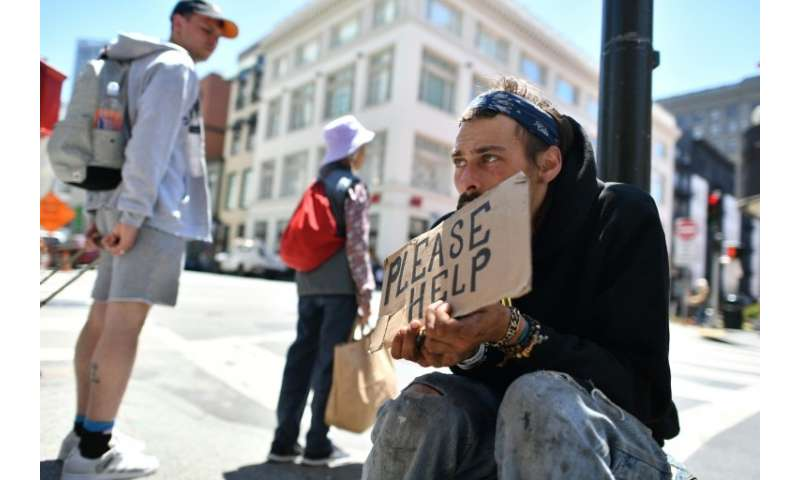 San Francisco's homeless problem has been exacerbated by the tech boom that pushed housing prices sky high