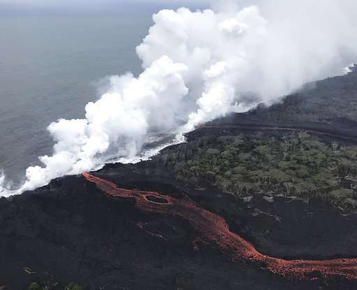 Hawaii volcano producing toxic lava haze plume called 'laze'