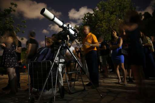 Complete lunar eclipse begins, the longest of this century