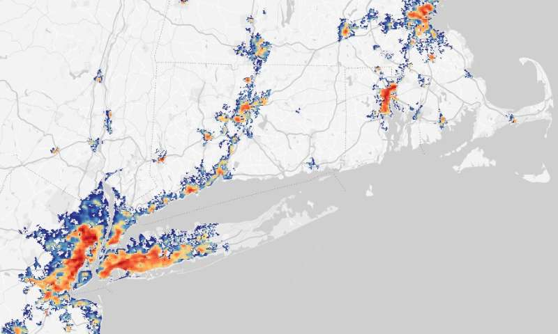 New algorithm provides a more detailed look at urban heat islands
