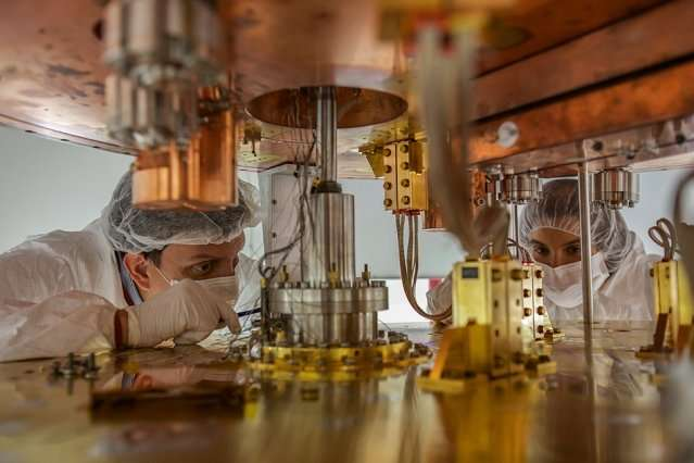 Scientists report first results from neutrino mountain experiment
