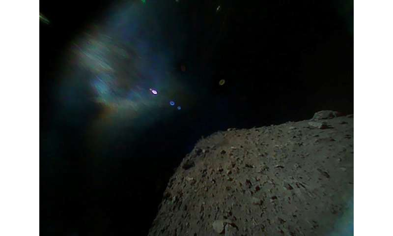 Scientists are already receiving data from other machines deployed on the surface of the Ryugu asteroid