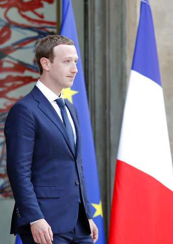 France's Macron takes on Facebook's Zuckerberg in tech push