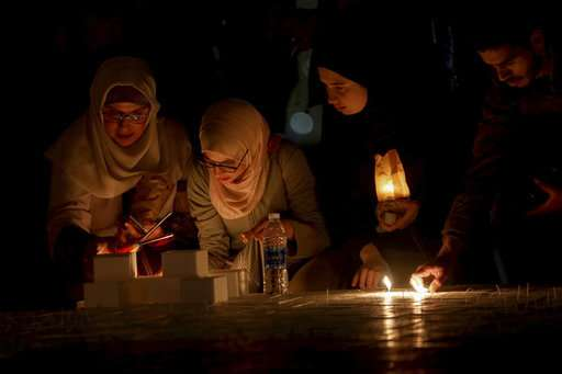 Lights go dark for Earth Hour to highlight climate change