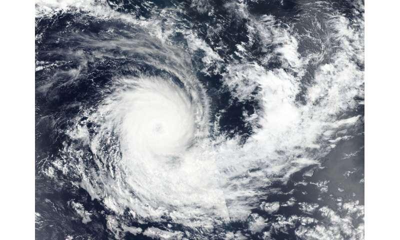 NASA-NOAA satellite tracking Tropical Cyclone Kenanga