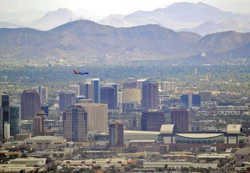 'Urban island' heat tests Phoenix, other large cities