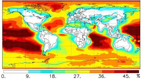Researchers discover new source of formic acid over Pacific, Indian oceans