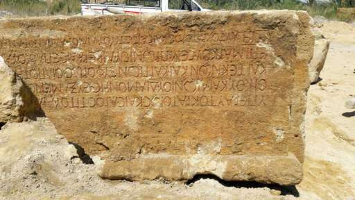 Archaeologists find remains of Roman-era temple in Egypt