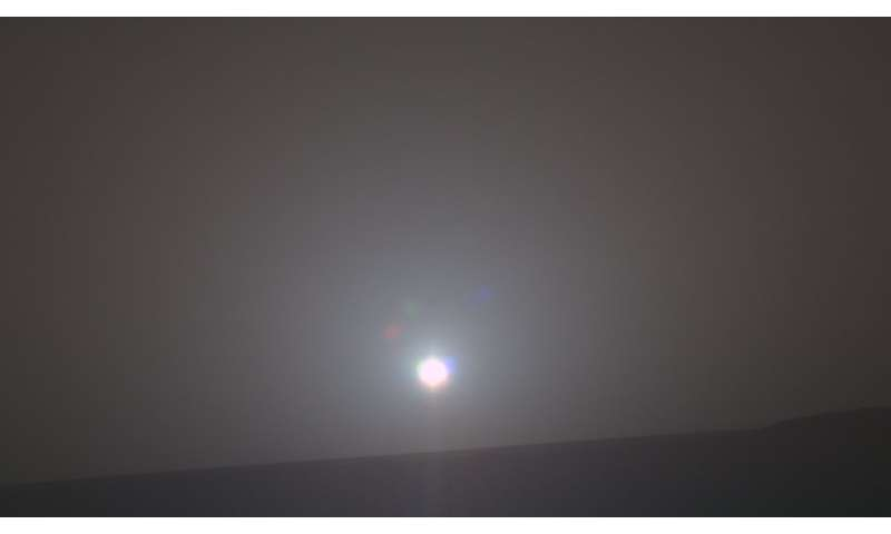 Scientists capture the sound of sunrise on Mars