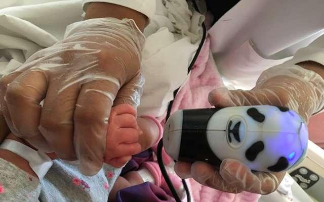Researchers develop biometric tool for newborn fingerprinting