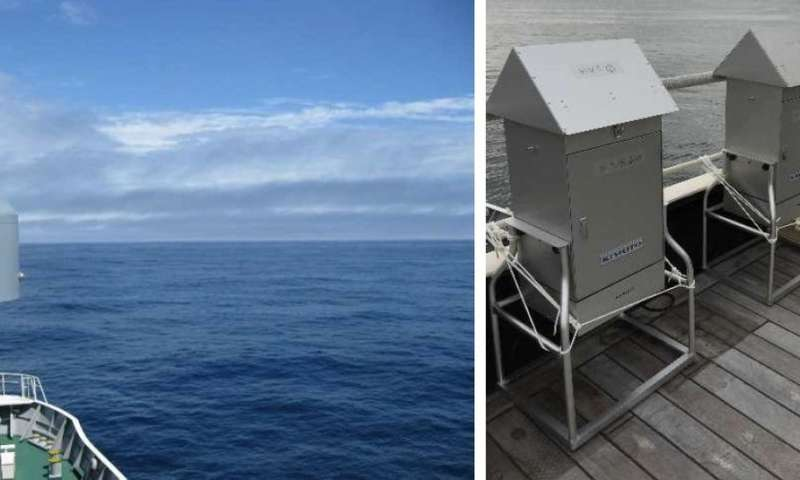 New insight into ocean-atmosphere interaction and subsequent cloud formation