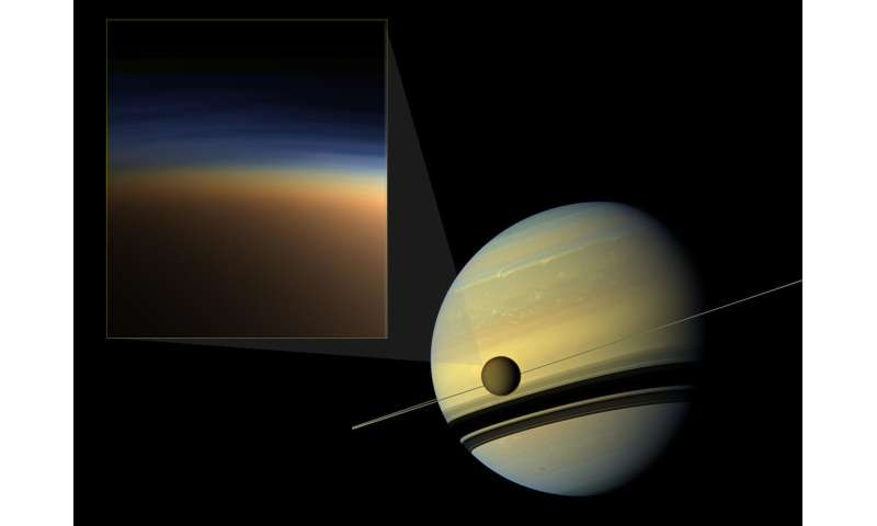 Scientists present new clues to cut through the mystery of Titan's atmospheric haze