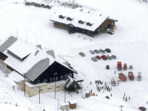 At least 16 hurt in volcano eruption near Japan ski resort