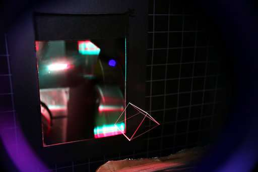 A new 3-D projection into thin air