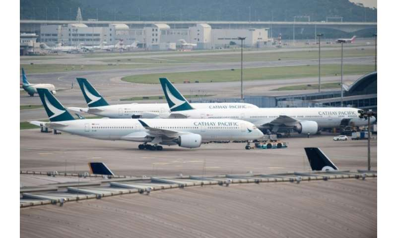 Cathay Pacific is battling to stem major losses as it comes under pressure from lower-cost Chinese carriers and Middle East riva