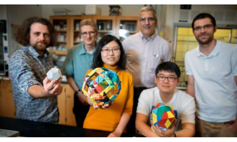 Collaboration yields discovery of 12-sided silica cages