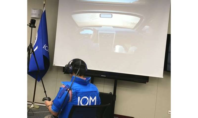 Counter-terrorism police are now training with virtual terrorists