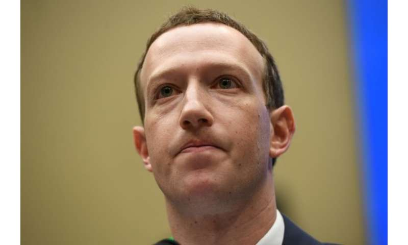 Facebook CEO and founder Mark Zuckerberg, pictured in April 2018, will attend a closed-door meeting with the Eurpoean parliament