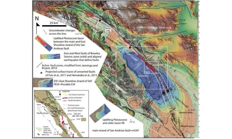 Geologists detail likely site of San Andreas Fault's next major quake