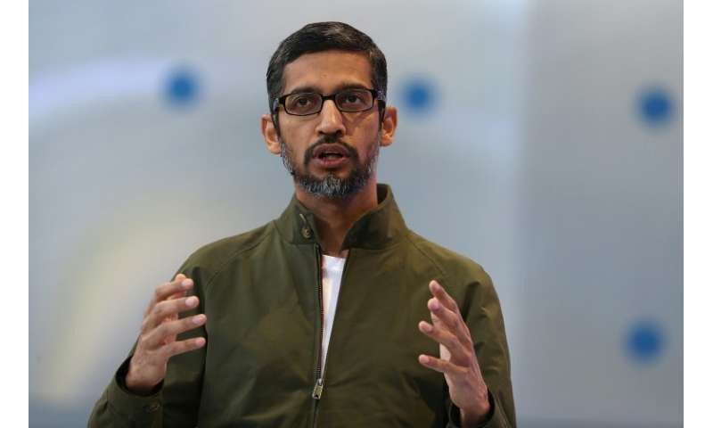 """Google CEO Sundar Pichai said that despite a huge EU fine over its Android operating system, the tech giant hopes to """"prese"""