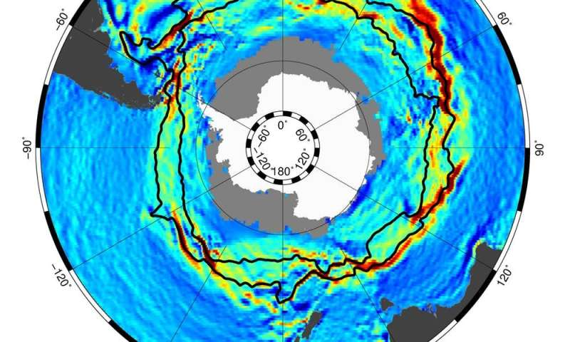 How the Antarctic Circumpolar Current helps keep Antarctica frozen