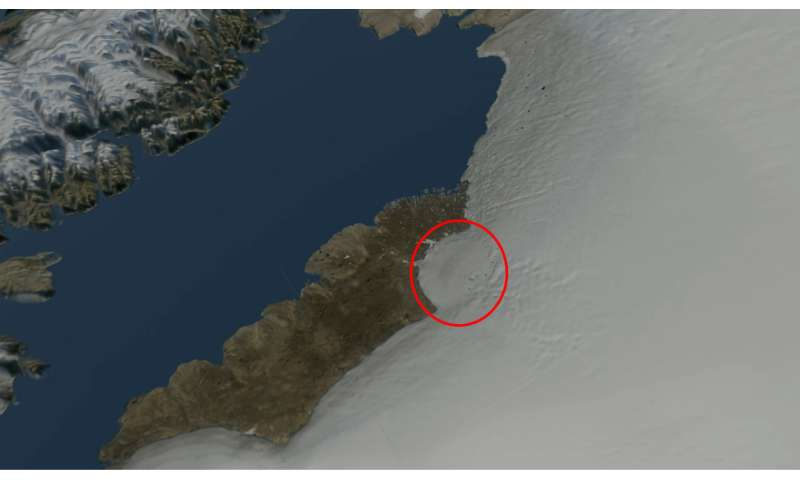 Huge crater discovered in Greenland – here's how the impact
