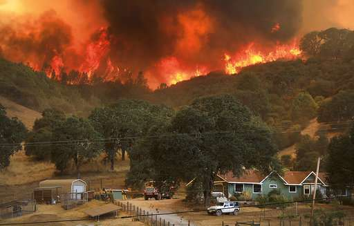 Hurting while healing: hospital staff displaced by wildfire