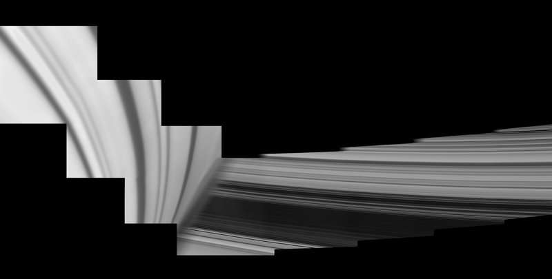 Image: Saturn's inside-out rings