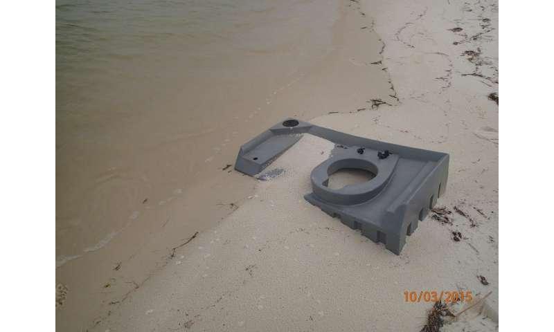 Marine debris study counts trash from Texas to Florida
