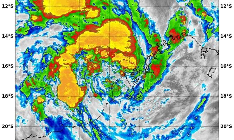 NASA sees Tropical Cyclone 5 form near northwestern Australia's coast