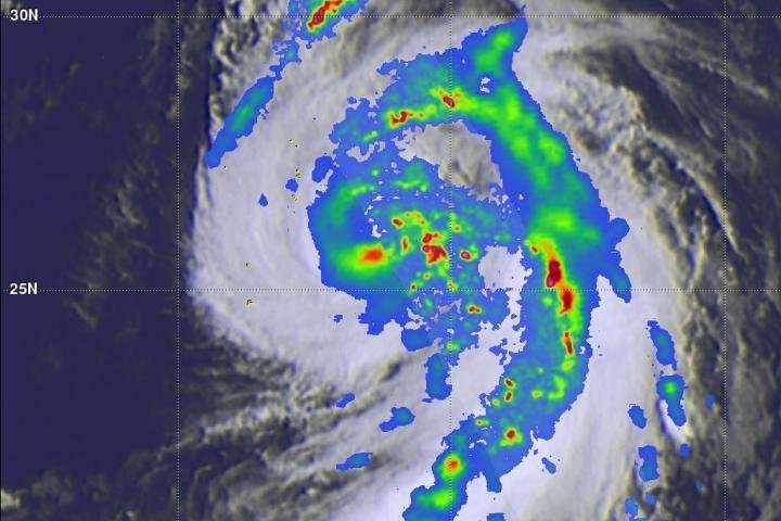 NASA's GPM sees another dangerous typhoon threatening Japan