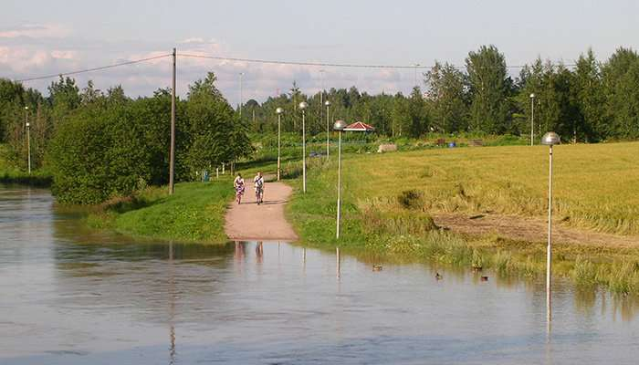 Nature provides the means for the sustainable management of floods