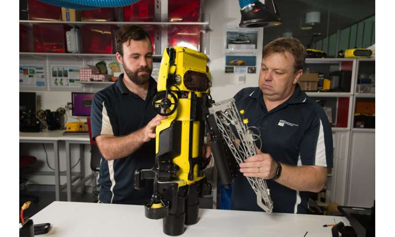 Robot reef protector sees a new way to check Great Barrier Reef health