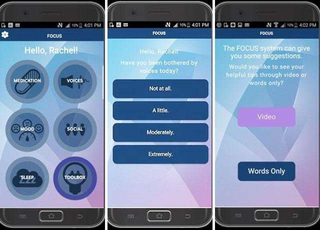 Smartphone app effective for serious mental illness treatment
