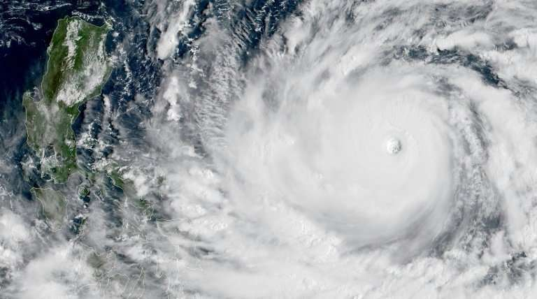 Super Typhoon Mangkhut is forecast to hit the northern Philippines packing winds up to 255 km per hour