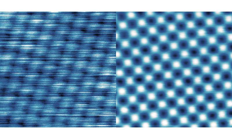 Suspension for high-performance microscopy results in perfect images