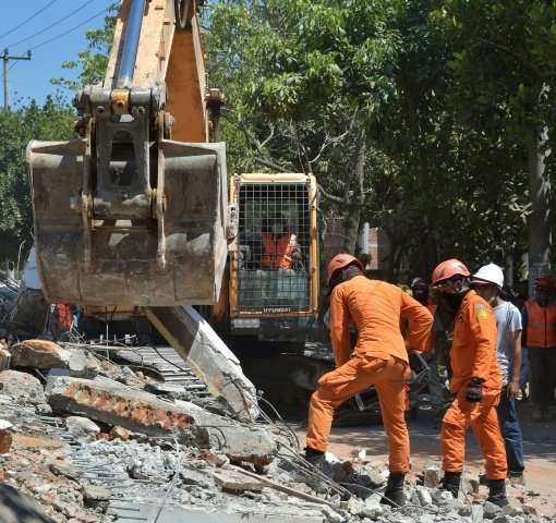Tens of thousands of homes, businesses and mosques were levelled by the quake, which struck on Sunday as evening prayers were be
