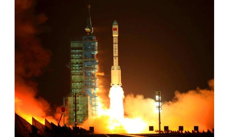 The Tiangong-1 was shot into orbit in September 2011