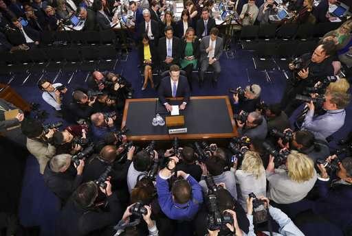 Zuckerberg: regulation of social media firms is 'inevitable'