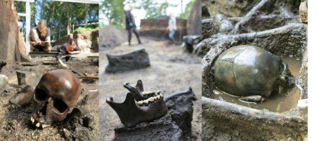 Archaeologists uncover remains of a horrifying Iron Age battle in Denmark