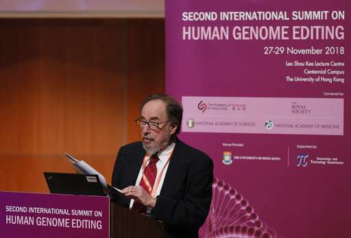 Scientists: World still isn't ready for gene-edited babies