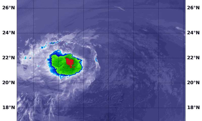 NASA sees Tropical Depression Paul's strength sapped