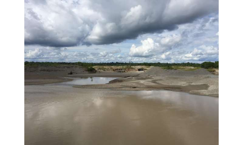 Researchers aim to help Colombia communities hit by illegal gold mining
