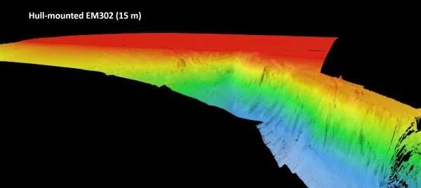 Scientists reveal submarine canyon on edge of ireland's continental shelf