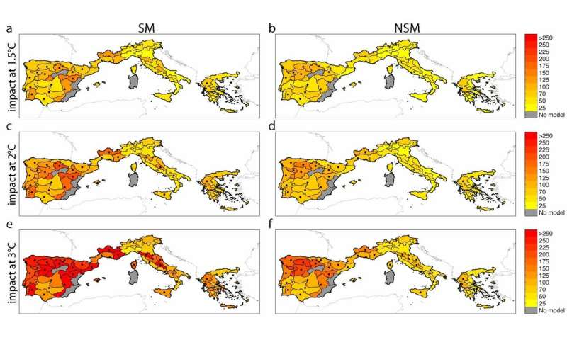 Global warming increases potential wildfire damage in ...